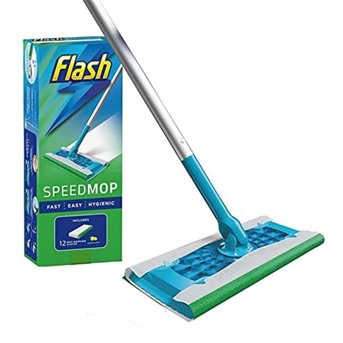 Flash Speedmop and 12 Wipes Starter Set.