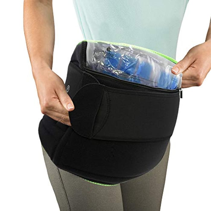 NatraCure (Hot or Cold) Hip and Back Pain Relief Wrap - Only £8.40!