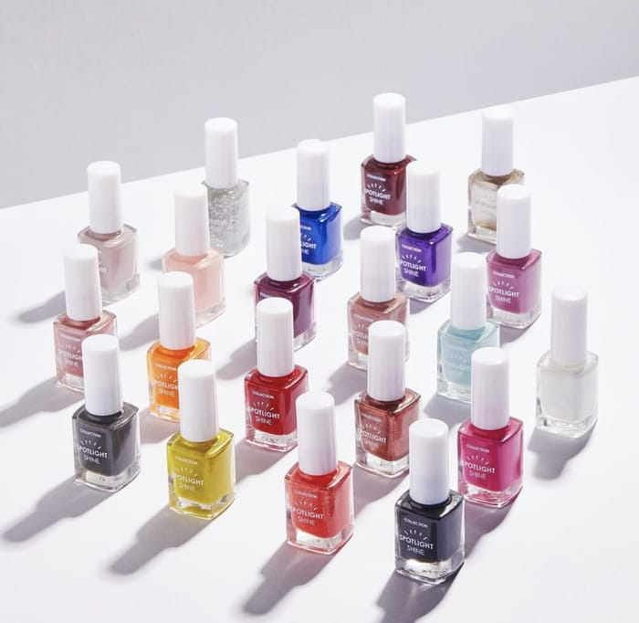 £1.66 on Selected Collection Nail Polishes +Free Loose Powder Spend £6