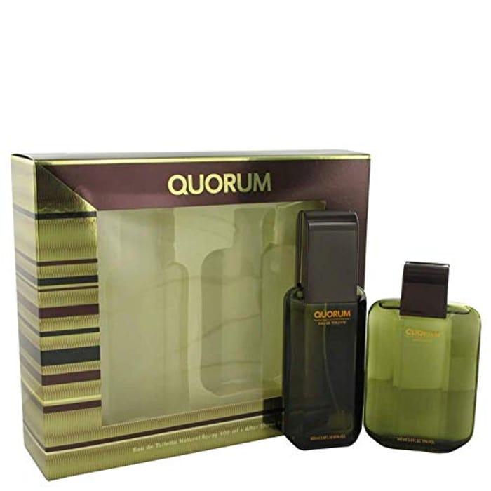 Antonio Puig Quorum 2 Piece Gift Set: Eau De Toilette 100ml - Only £4.57!