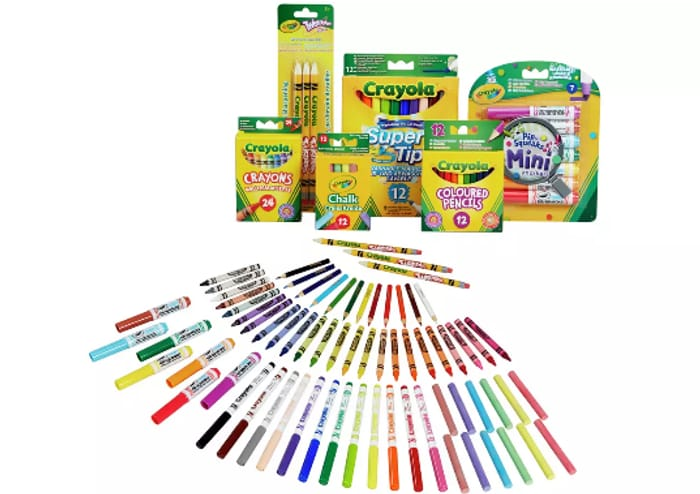 Best Price! Crayola 70 Piece Stationery Set - £10 Each or 2 for £15