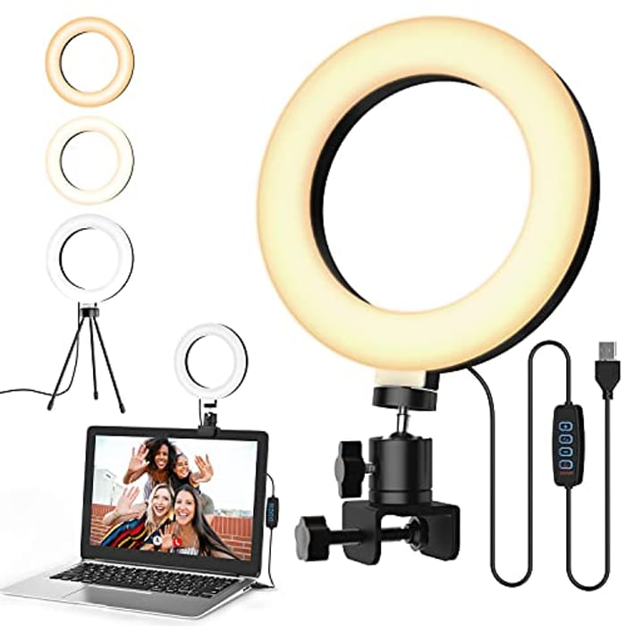 DEAL STACK - Koicaxy Newest 72 LEDs Ring Light with Tripod Stand + 20% Coupon