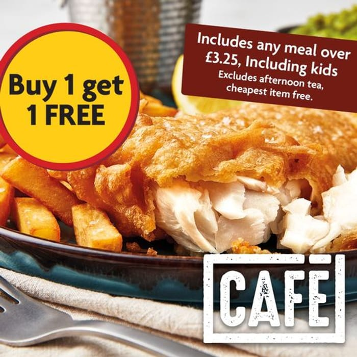 BUY One Get One Free on All Morrisons Cafe Meals after 3pm