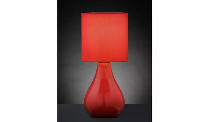 Argos Red Lamp for Just £1.80!