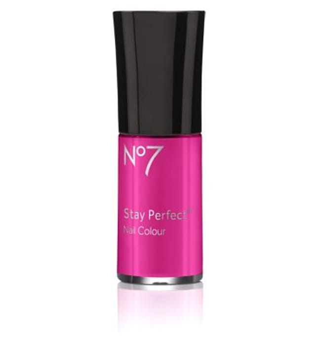 Buy 3 No7 Stay Perfect Nail Colour for £5 Free C&C
