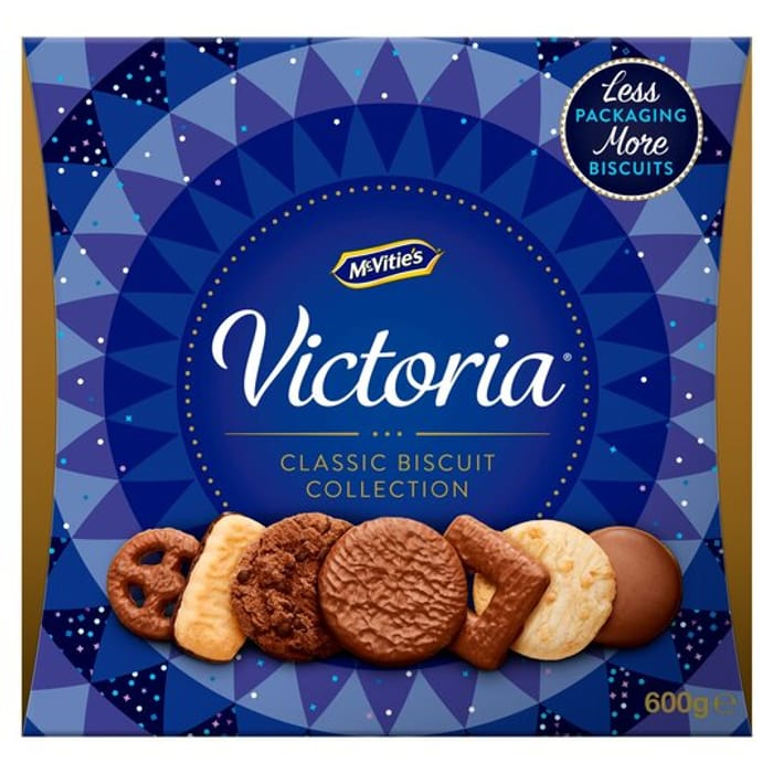 McVitie's Victoria Classic Biscuit Collection 600g
