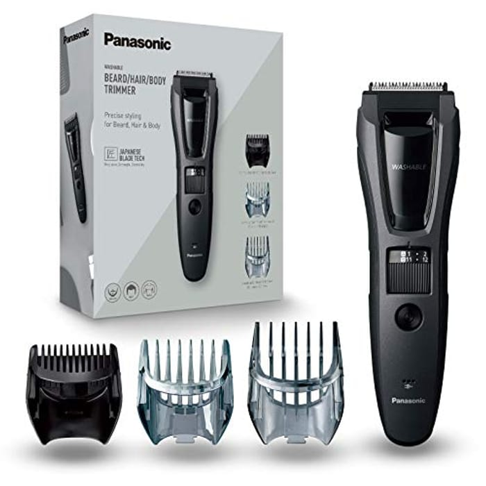 Panasonic, Beard & Body Trimmer for Men with 40 Cutting Lengths