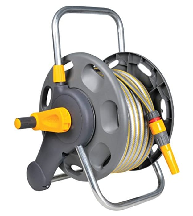 Hozelock 2471 0000 60m 2 in 1 Hose Reel with 25m Hose