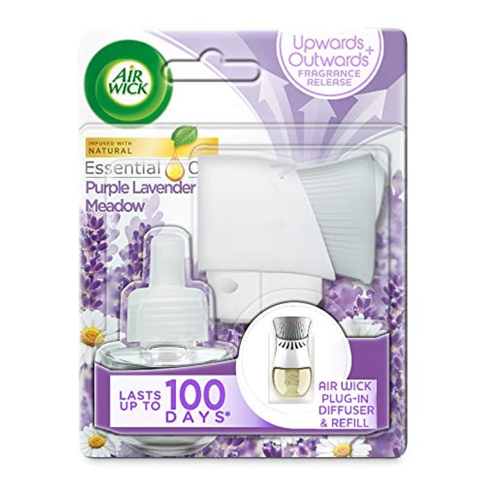 AirWick Essential Oils Air Freshener, Electrical Plug in Kit Gadget and Refill