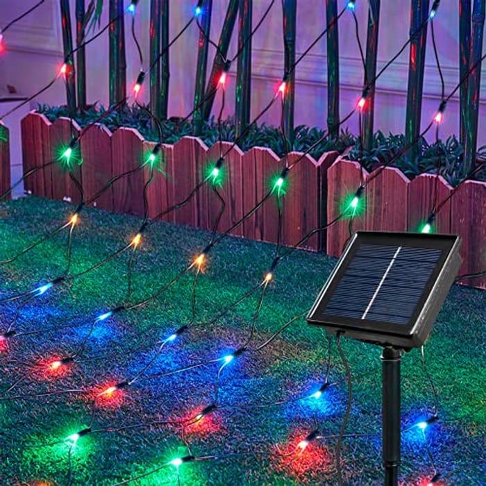 Ollny Solar Net Lights, 3.6m X 1.2m 240 LED Lights