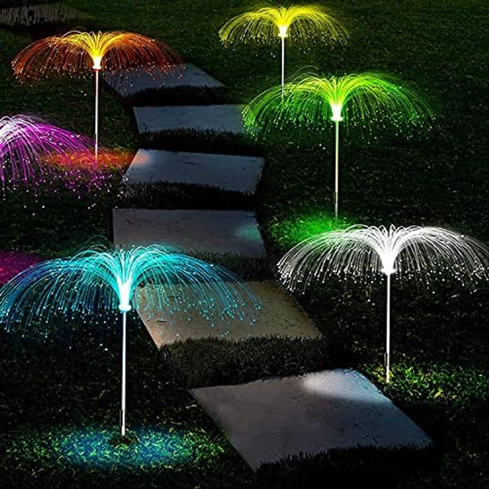 LiyuanQ Solar Garden Lights