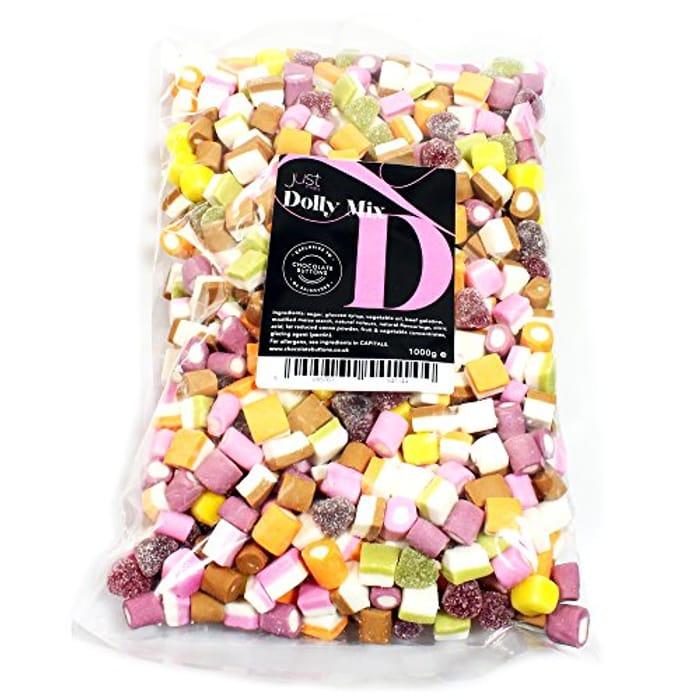 Just Treats Dolly Mixture (1 Kilo Share Bag)