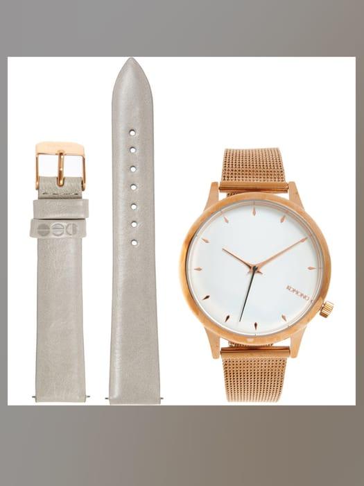 KOMONO Rose Gold Tone Estelle Royale Watch