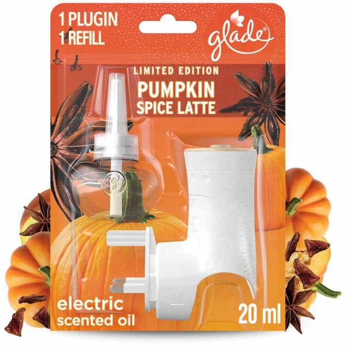 Glade Electric Holder Pumpkin Spice Latte Air Fres