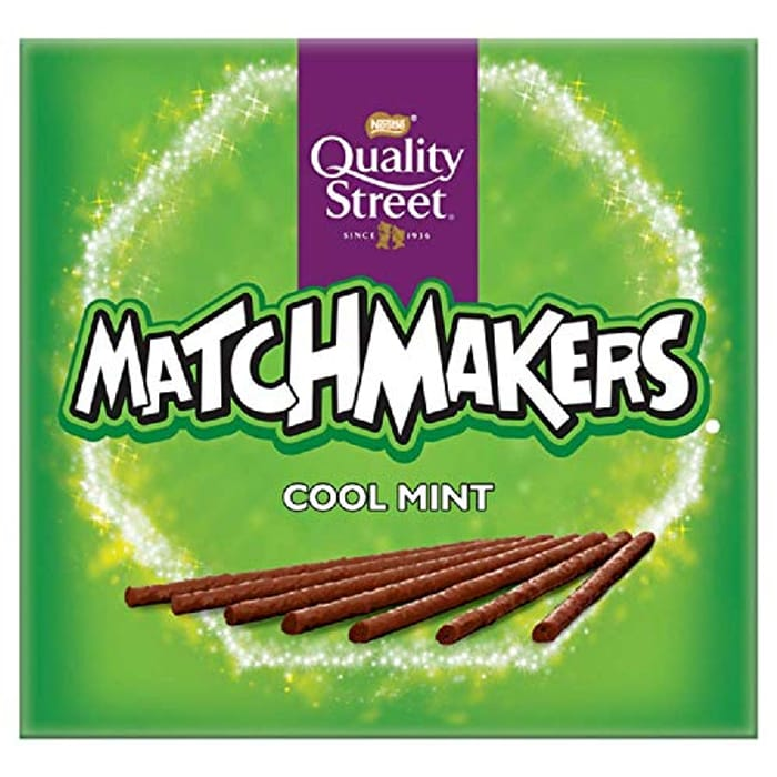 Quality Street Matchmakers Cool Mint Chocolates, 120g