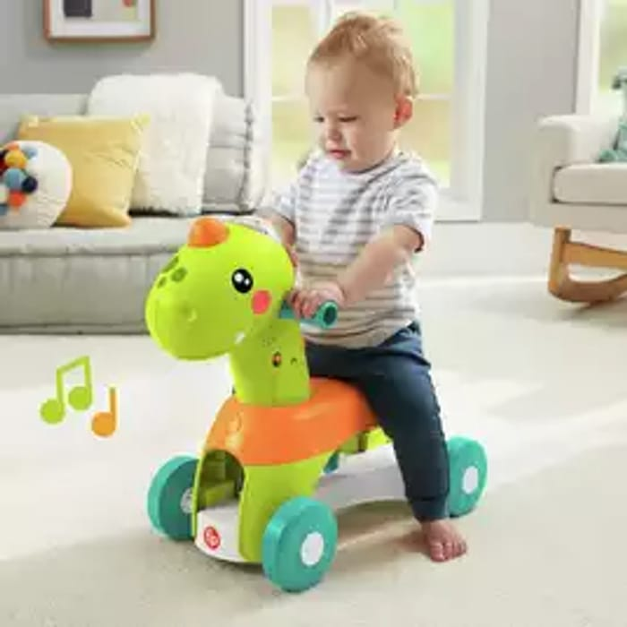 Save £15 on Fisherprice Paradise Pals Dino Musical Ride on Toy