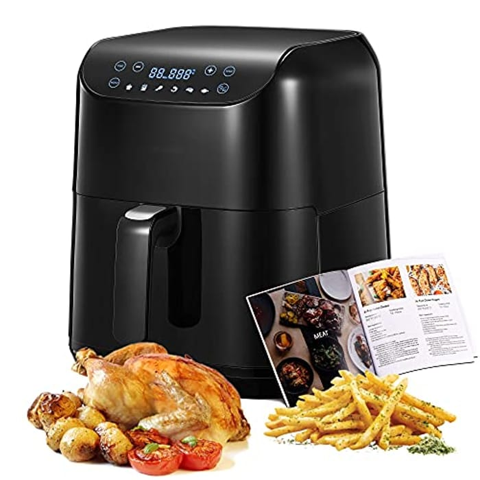 Large Capacity 5.5L Air Fryer Oven with Rapid Air Circulation - Only £54.99!