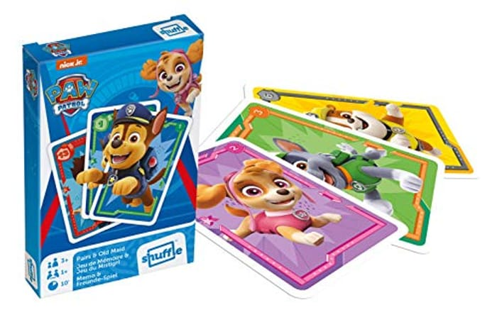 Best Price! Paw Patrol Pairs and Old Maid Playing Cards, 1 Deck at Amazon
