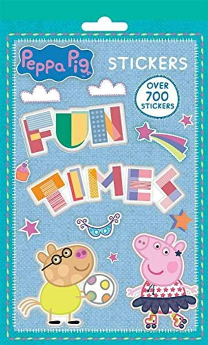 Cheap PEPPA PIG 700 STICKERS - Free Delivery - Only £1.77!