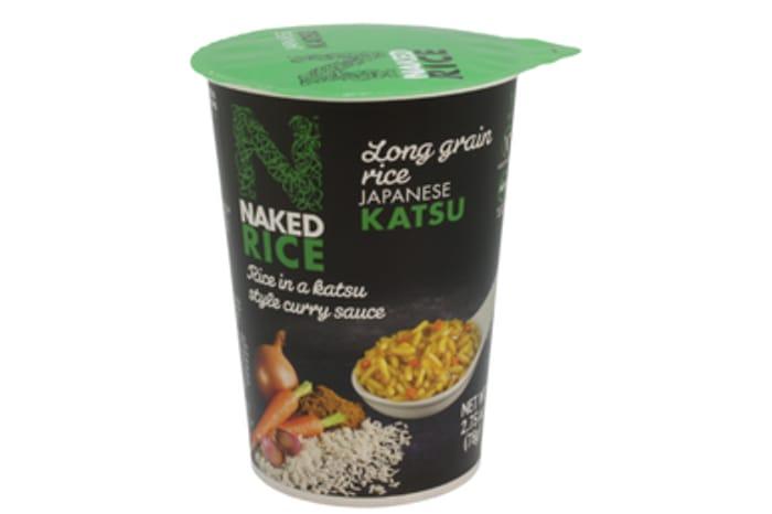 Naked Rice Japanese Chicken Katsu Curry 78G