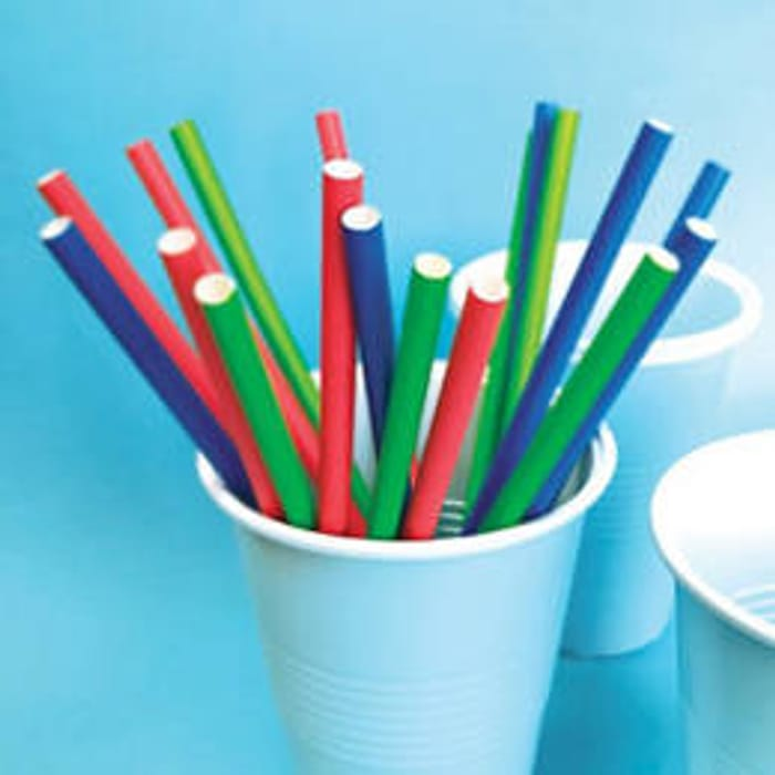 George Home Paper Straws 24 Pack!
