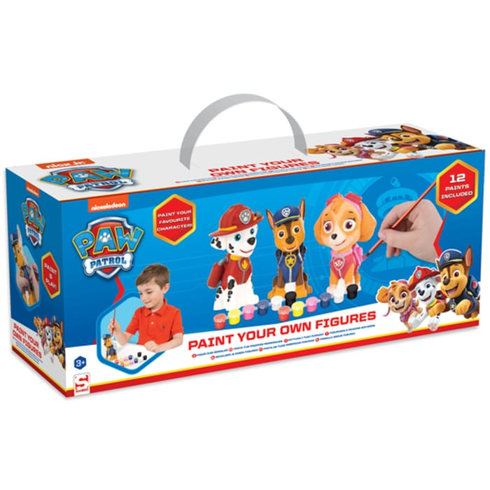 Paw Patrol - 3 Pack Paint Your Own Figure