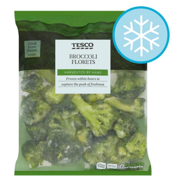 Tesco Broccoli Florets 900G