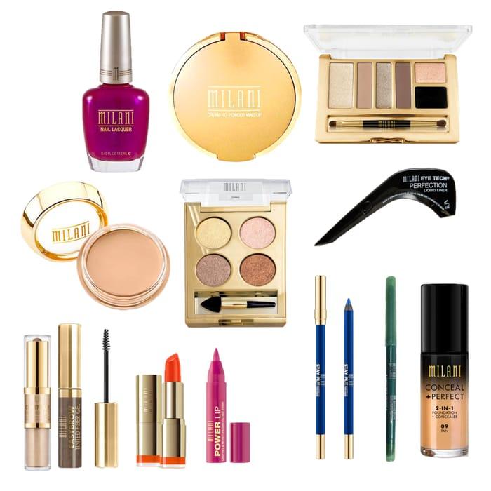 Save 20%On Milani Cosmetic Foundation Bronzer Lipsticks Etc