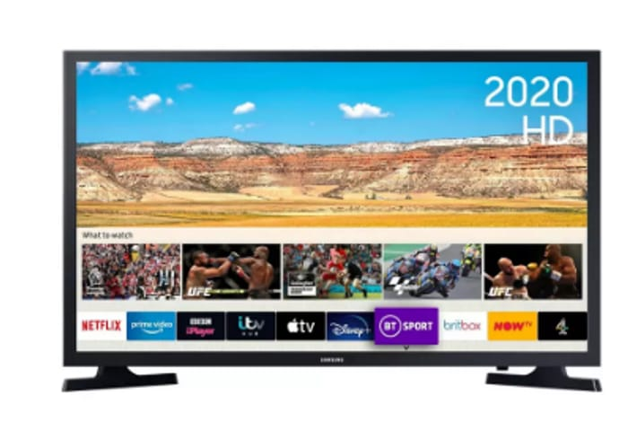 """Cheap Samsung 32"""" UE32T4307 Smart HD Ready HDR LED TV - Only £199!"""