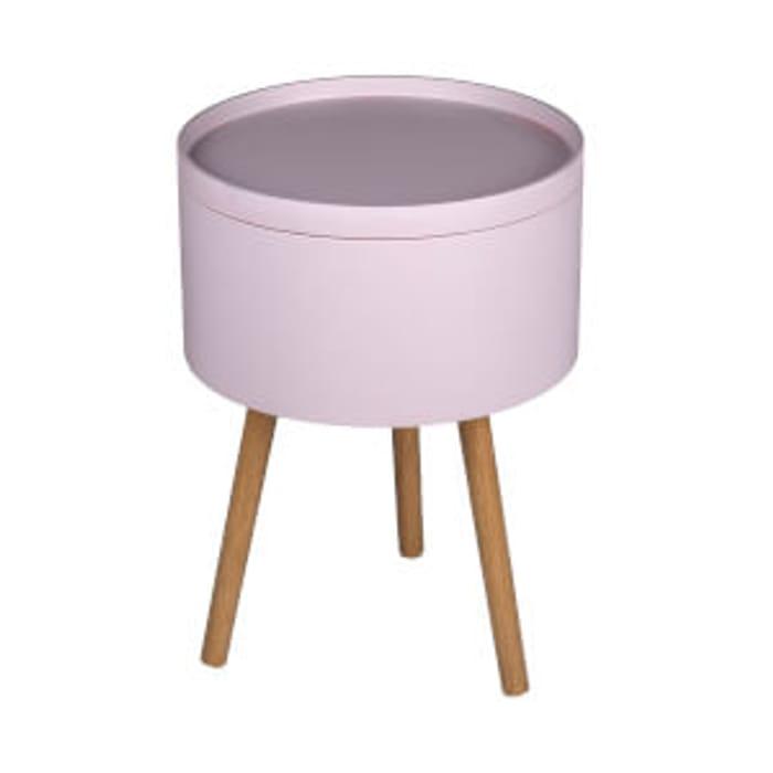 Cheap Storage Tray Side Table - Blush