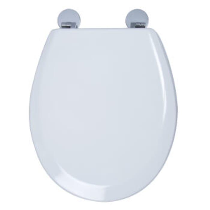 1/2 Price - Croydex Como Moulded Wood Toilet Seat