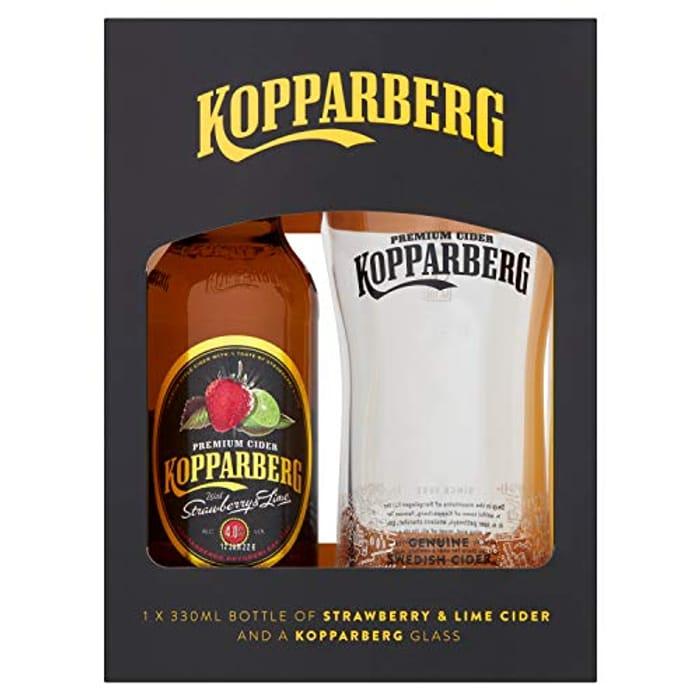 Pre Order Strawberry Koppaberg and Glass Set