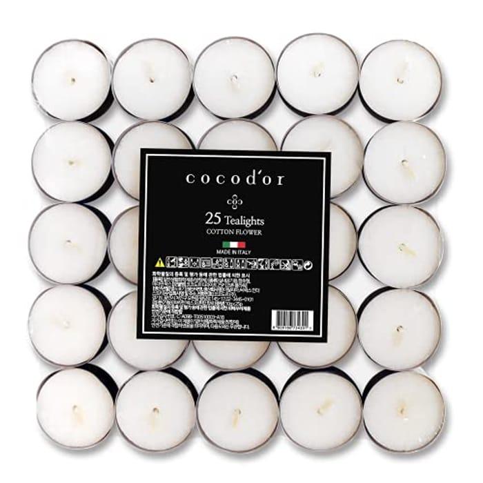 100pcs Tealight Candles