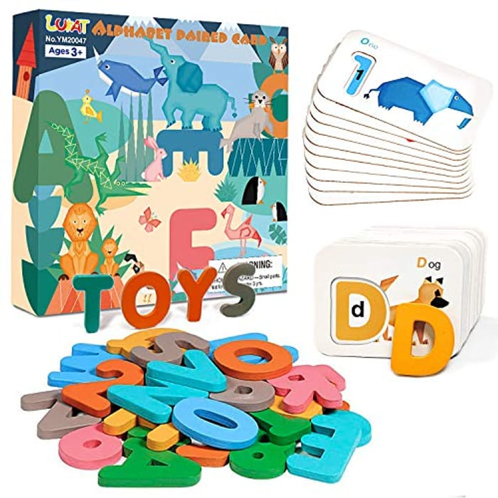 LUKAT Alphabet and Number Flash Cards