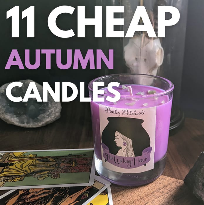 11 Cheap Scented Candles Perfect for Autumn - From Just £5.62