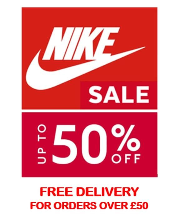 NIKE SALE - up to 50% OFF NIKE
