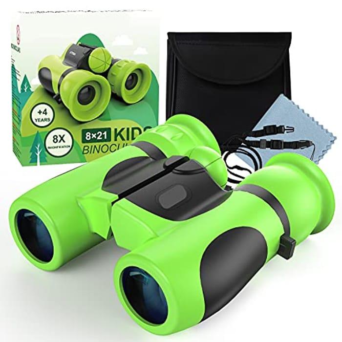 Kizmyee Shock Proof Kids Binoculars