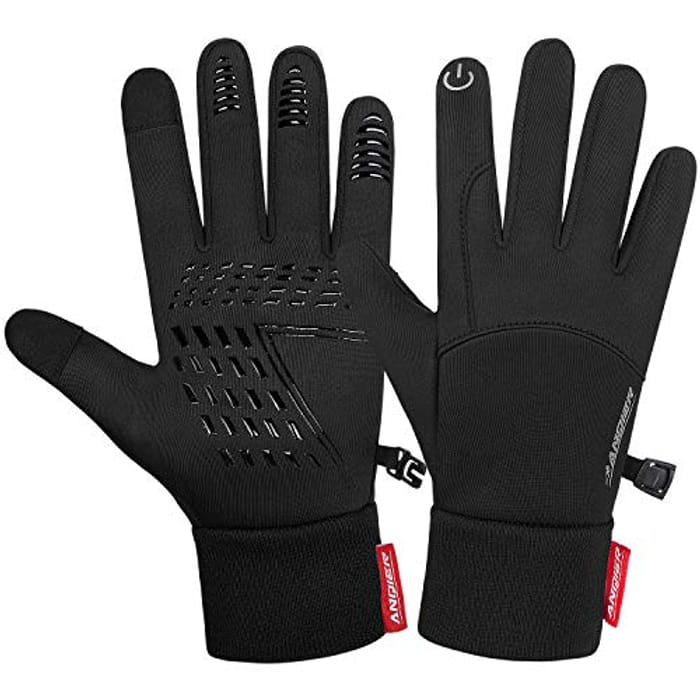 Coskefy Anti Slip Windproof Thermal Touchscreen Gloves