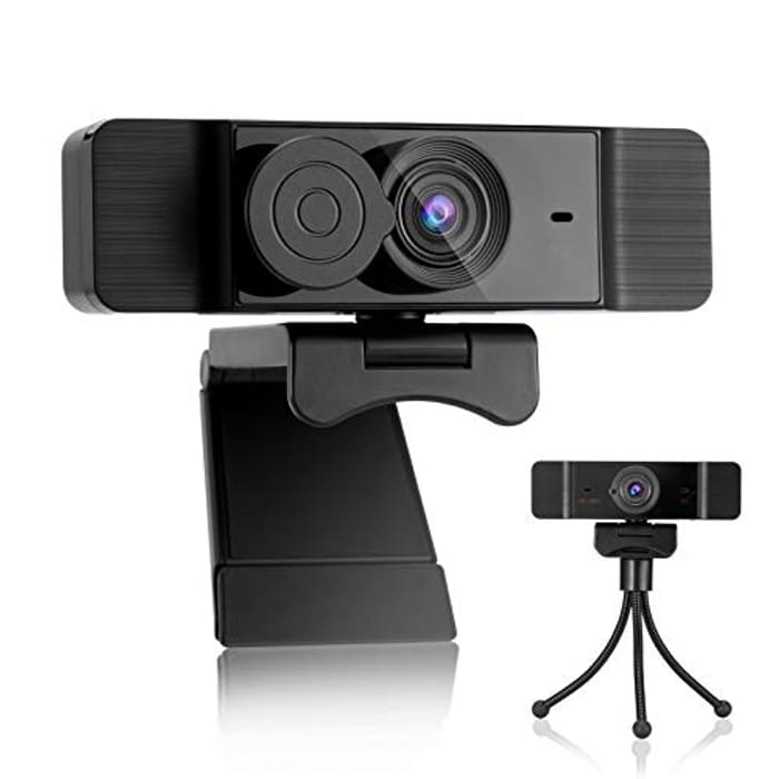 PRYMAX 1080P Webcam with Microphone
