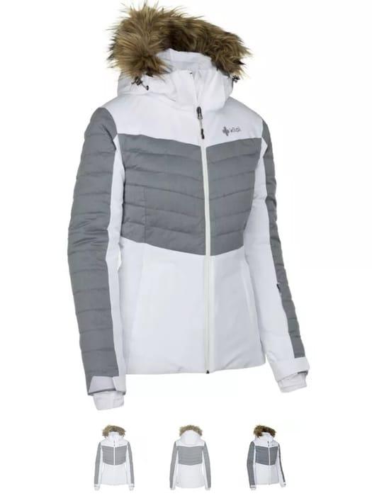 CHEAP! KILPI Womens Breda Insulated Ski Jacket (White) Free Delivery