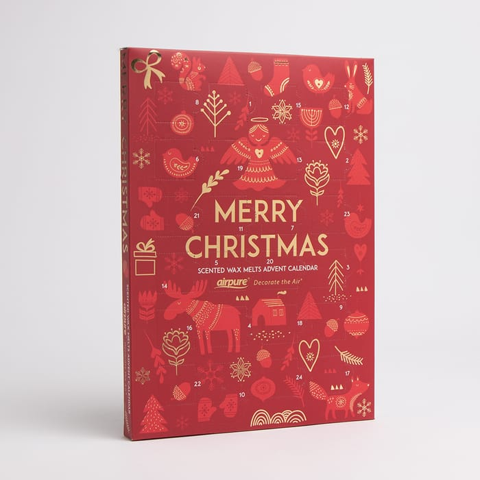 Airpure: Scented Wax Melts Advent Calendar - Red