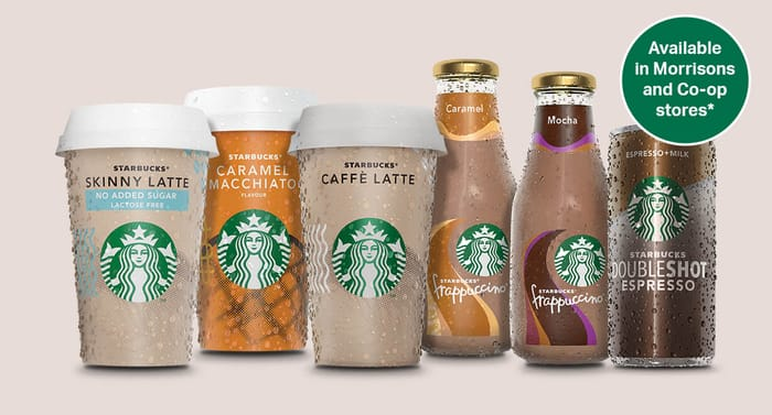 Free Starbucks Ready to Drink Chilled Coffee with Voucher at Morrisons / Co_op