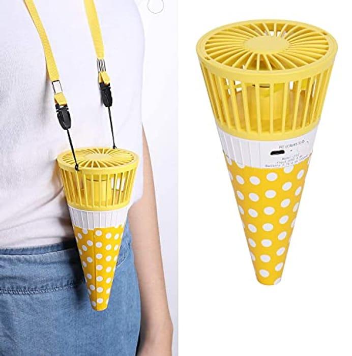 Mini Portable Fan Necklace 70% Off!