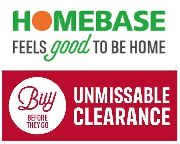 Homebase Clearance Sale