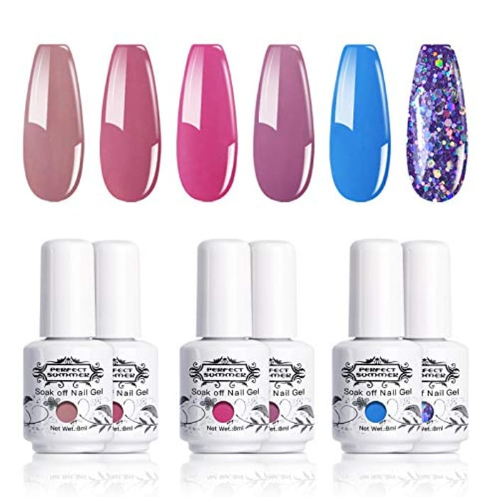 Perfect Gel Nail Varnishes 40% Off!