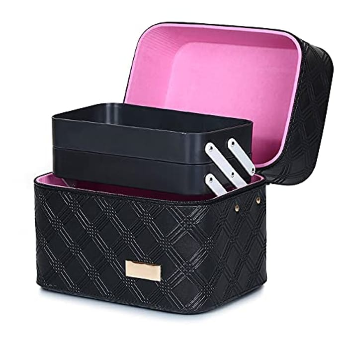 Hotrose Extra Large Space Storage Beauty Box Make up - Only £13.98!