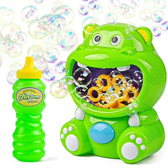 Vubkkty Bubble Machine, Automatic Bubble Blower - Only £5.49! With Discount Code