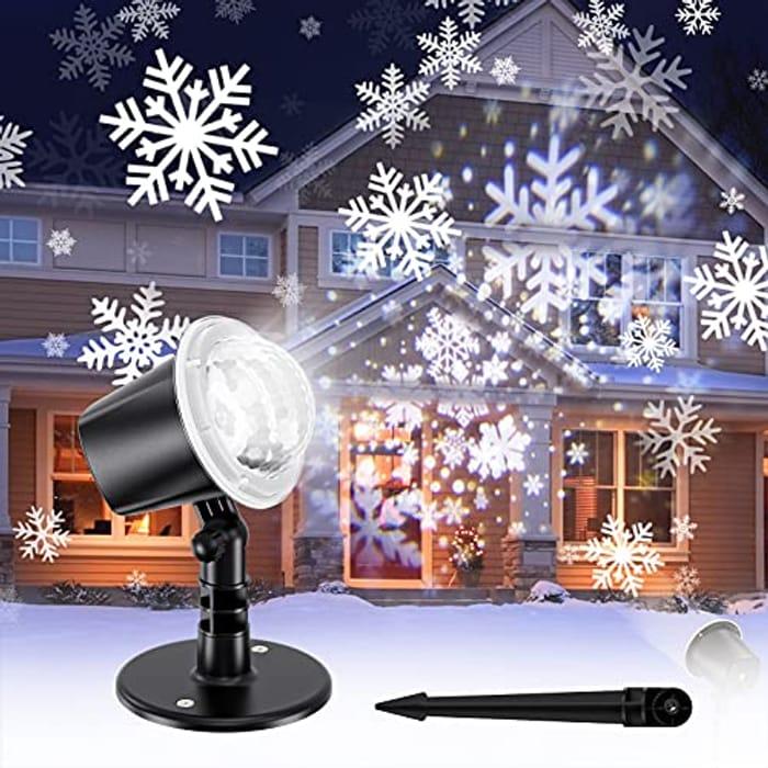 Prime Deal! Christmas Snowflake Projector Lights