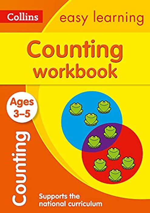 Counting Workbook Ages 3-5: Ideal for Home Learning
