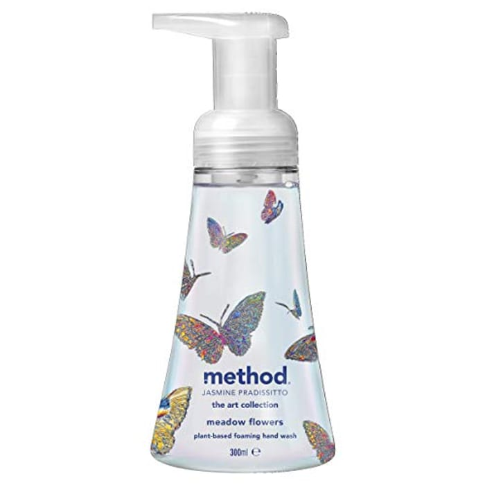 Method Foaming Hand Wash, Limited Edition, Meadow Flowers, 300 Ml